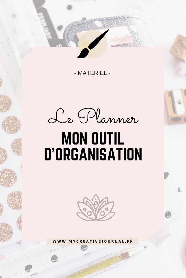 Planner outil d'organisation au quotidien créatif