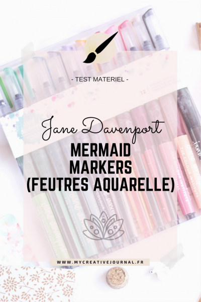Mermaid Markers Jane Davenport : Test et avis