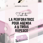 Rapesco - Perforateur d'agenda / planner
