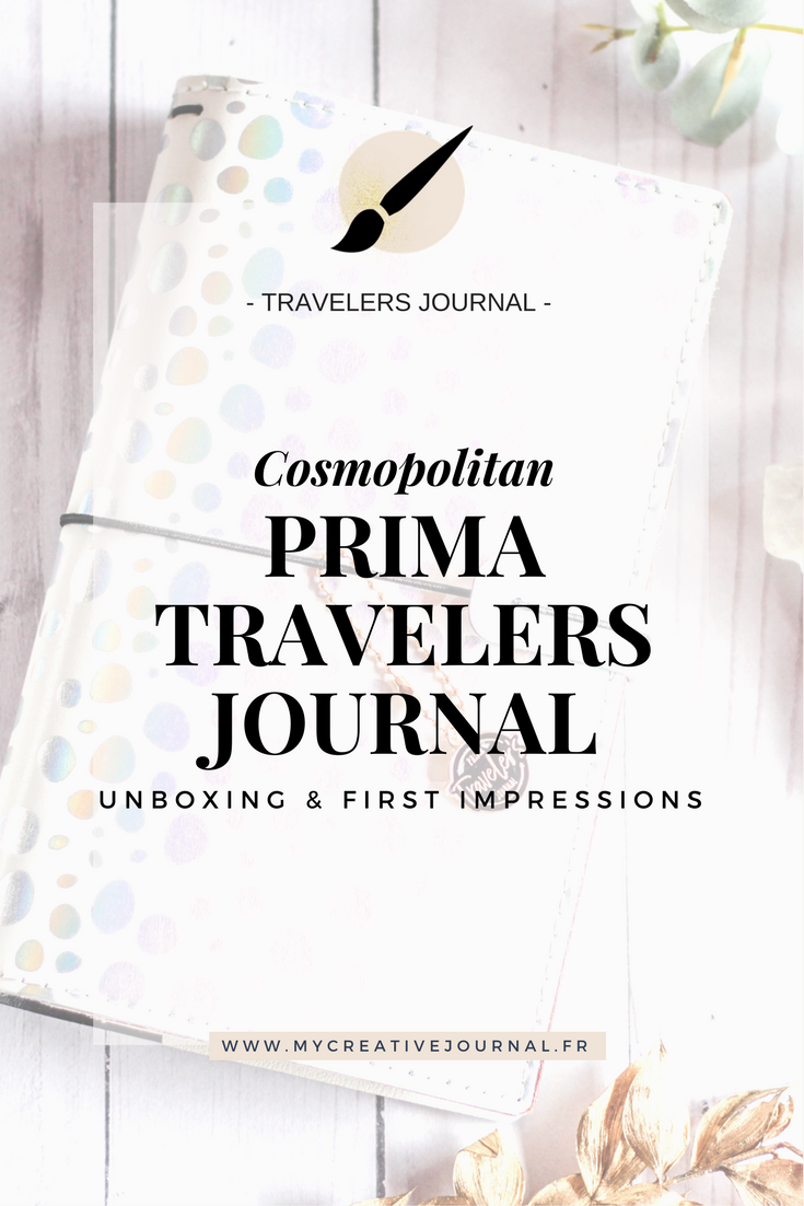 Prima Traveler's Journal Cosmopolitan
