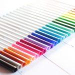 crayola supertips feutres bullet journal hand lettering