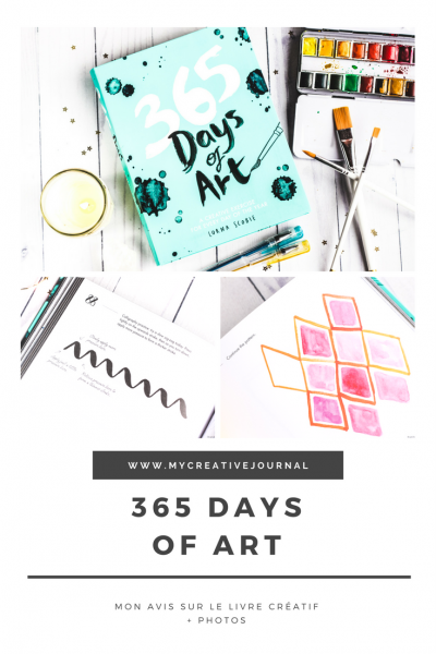 365 days of art livre creatif peinture collage exercices