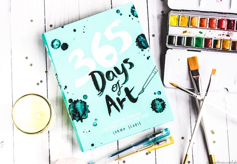 365 days of art livre d'exercice creatifs