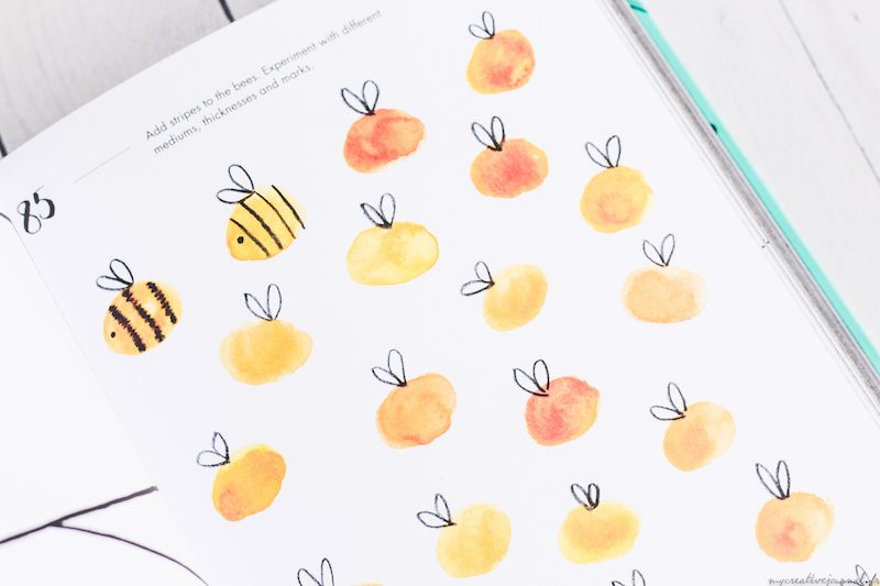 exercice doodles bullet journal