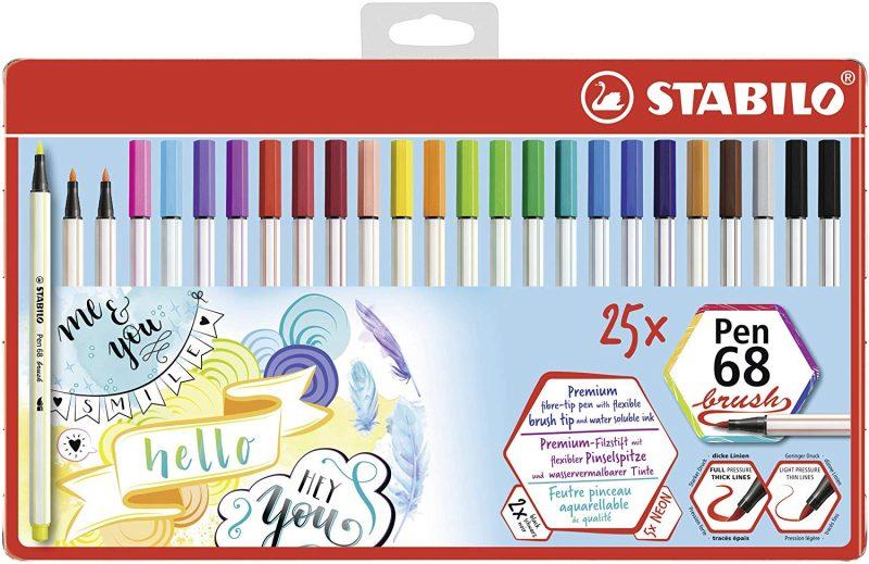 brush pen stabilo nouveaute