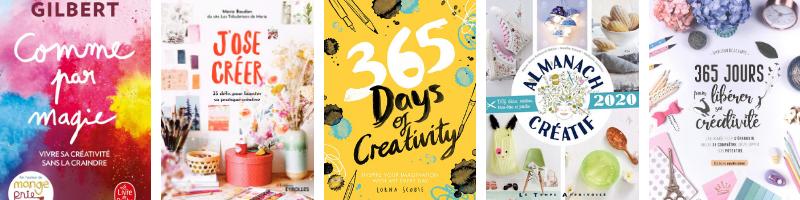 livres pour booster sa créativité et trouver l'inspiration