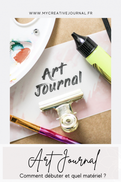 comment débuter un art journal
