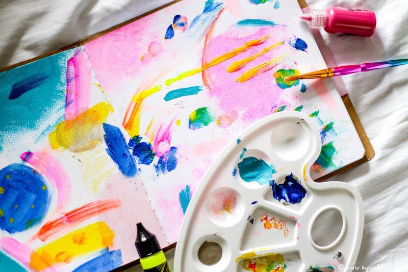 conseils astuces journal creatif art journal