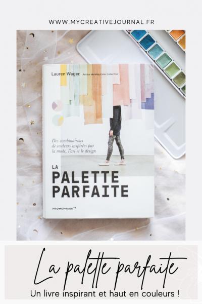 livre sur les couleurs la palette parfaite