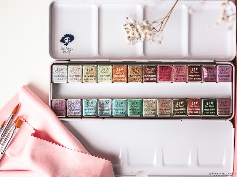 palette-aquarelle-irisee-shimmer-paul-rubens-avis