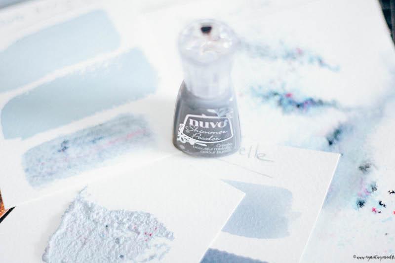pigment en poudre comment utiliser nuvo