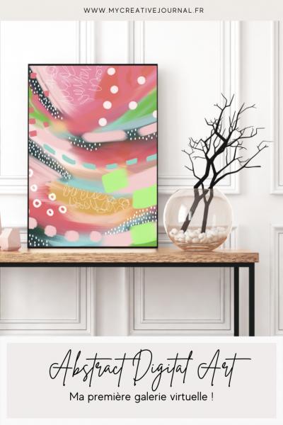 digital abstract art gallery art abstrait affiches